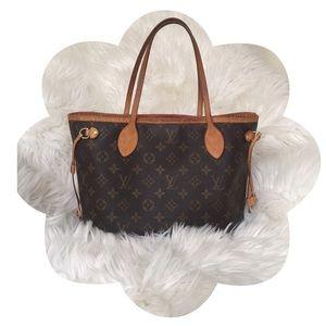 💯 Authentic Louis Vuitton Neverfull PM Monogram